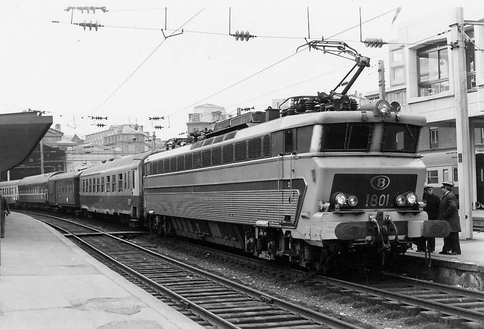 Спальный вагон Москва - Париж